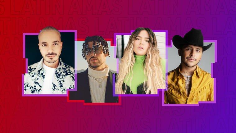 Ellos son los nominados a los Latin American Music Awards 2021