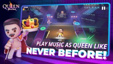 Queen Rock Tour: el nuevo juego para celular, dedicado a los amantes de la música.
