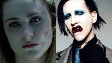 Actriz de Westworld acusa a Marilyn Manson de violación