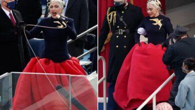 Lady Gaga vuelve a romper las redes, así cantó el ceremonia de investidura de Biden