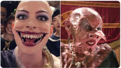 ¡Revelan el look de #AnneHathaway y su aquelarre en #LasBrujas! 👀