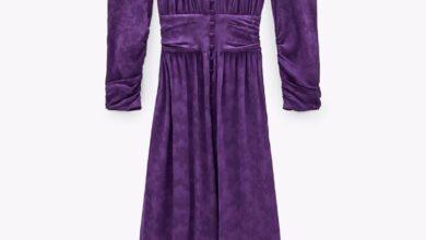 El vestido largo de manga larga más bonito y elegante de todo Zara