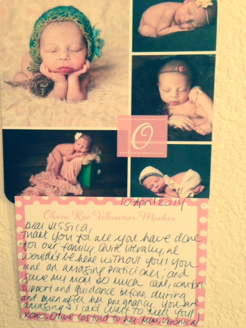 testimonial from Olivia,, sd fertility acupuncture