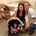 San Diego Fertility Happy Healthy Baby Visit 4-2-2015