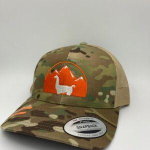 Multicam Llama Hat