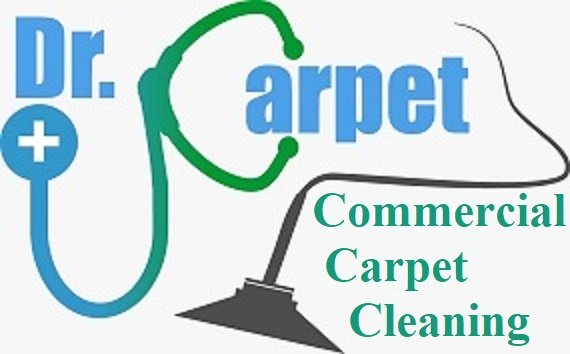 dr. commercial carpet cleaning logo