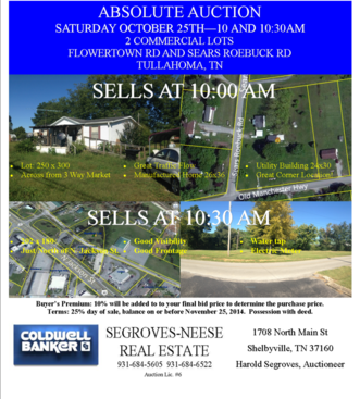 Coldwell Banker SEGROVES-NEESE REAL ESTATE