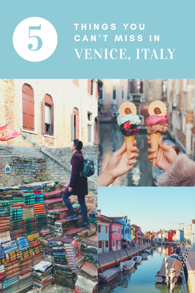 5 Things You can't miss in Venice, Italy.