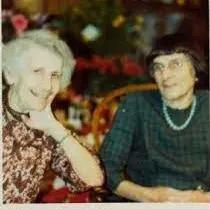Anna Freud and Dorothy Burlingham