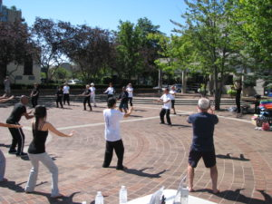 Tai Chi at Fit in the Core