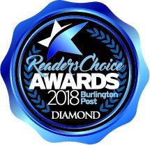 Burlington Readers Choice Diamond Awards 2018