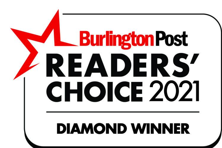 Best Burlington Chiropractor Award