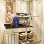 Farm House style cabinetry with pull out baskets
