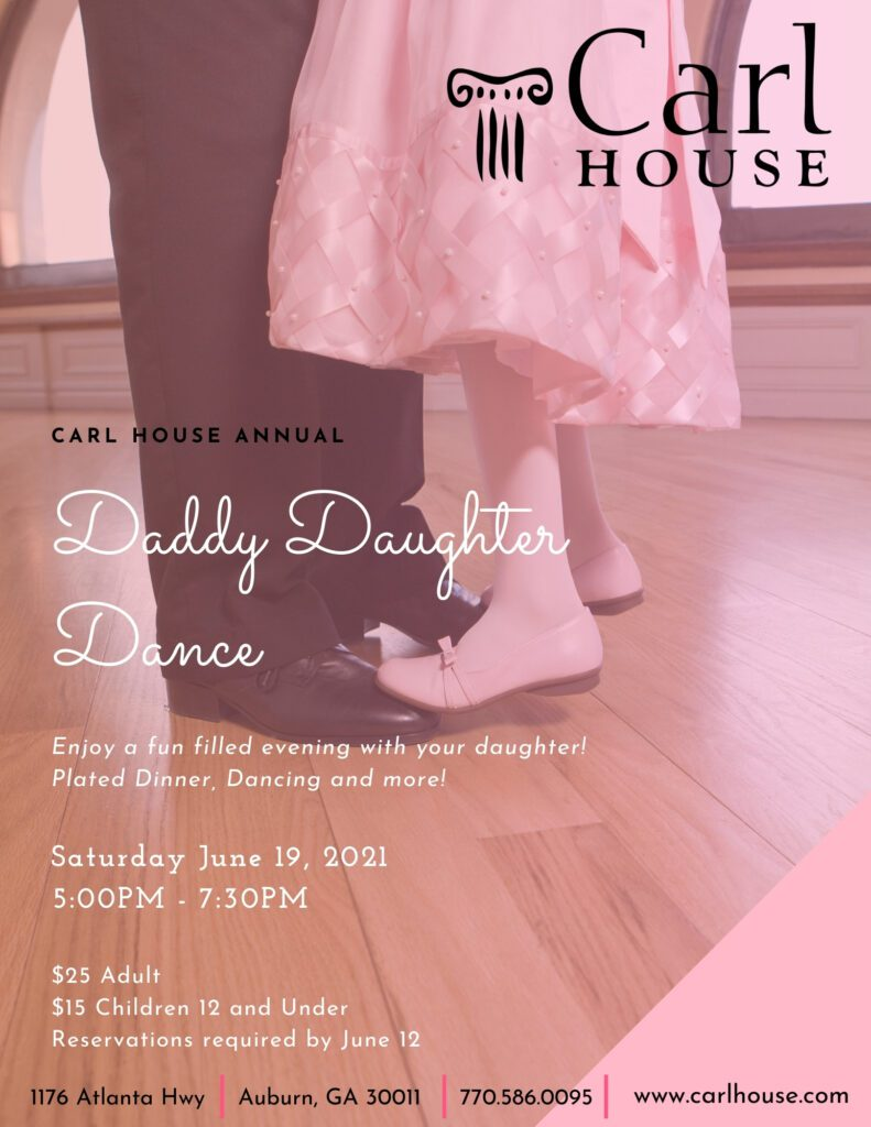 Daddy Daughter Dance 2021