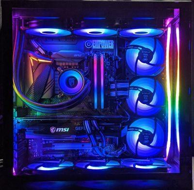 Lian Li O11 Dynamic Intel i7-10700K+RTX3060 system unit