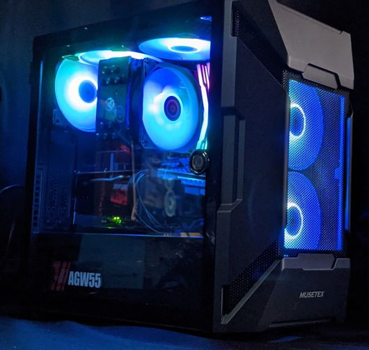 MK7 Black Ryzen5-3600X-GTX1660 computer system unit