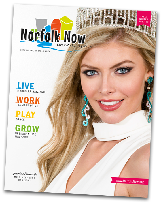 Norfolk Now Magazine, Norfolk Nebraska Live Work Play Grow