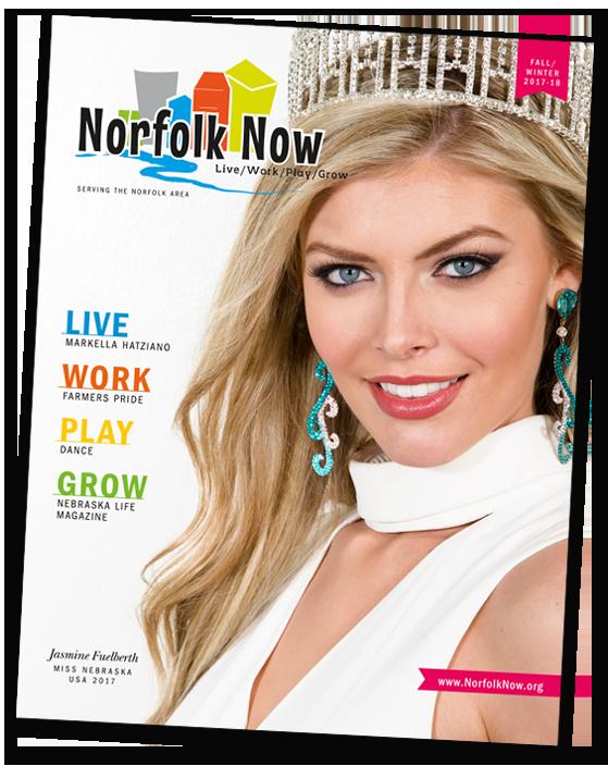 Norfolk Now Magazine, Norfolk Nebraska Live Work Play Grow