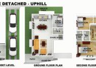 Serenis Single Detached Uphill Floor Plan