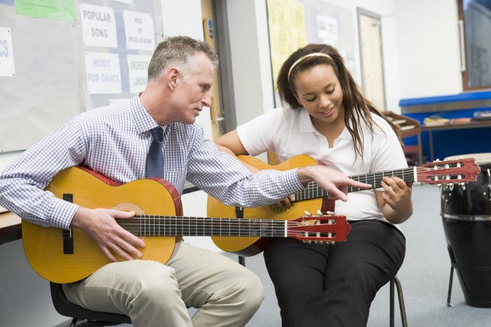 Learn guitar online