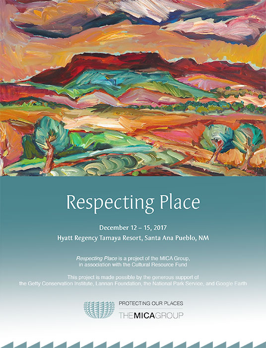 Respecting Place Event poster