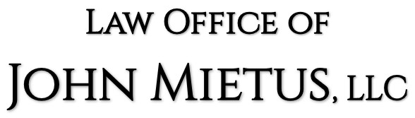 Logo for the Law Office of John Mietus, LLC