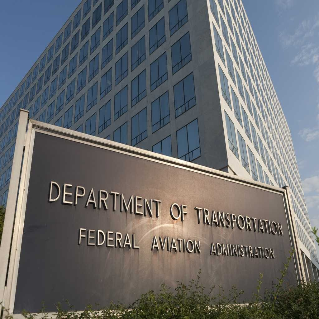 The FAA headquarters in Washington DC