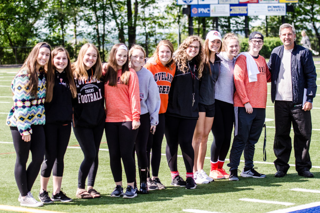 Loveland High School Girls Halftime Surprise