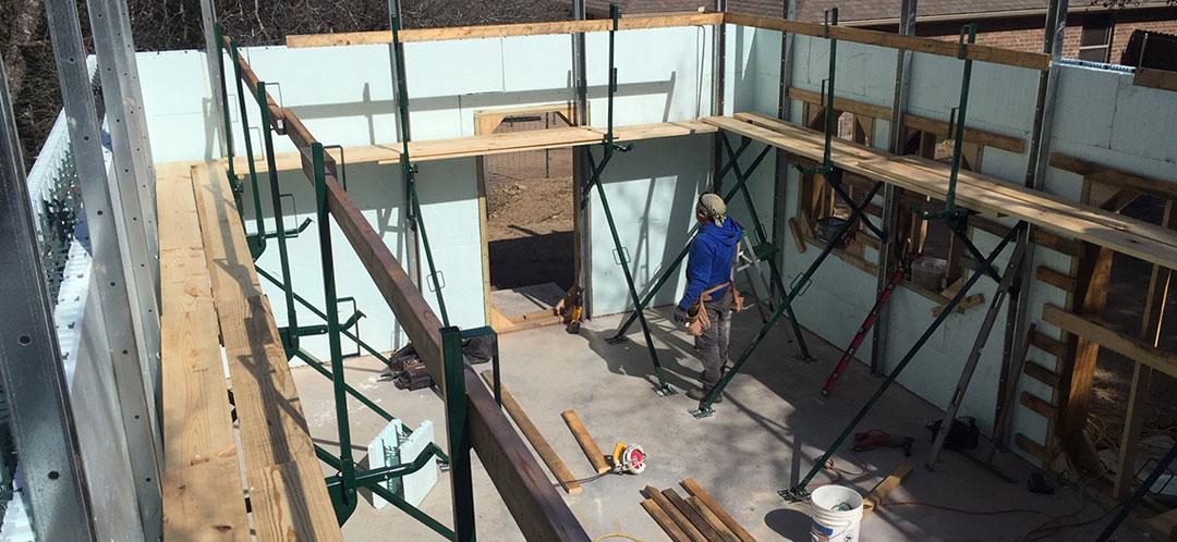 ICF Construction - Saferoom