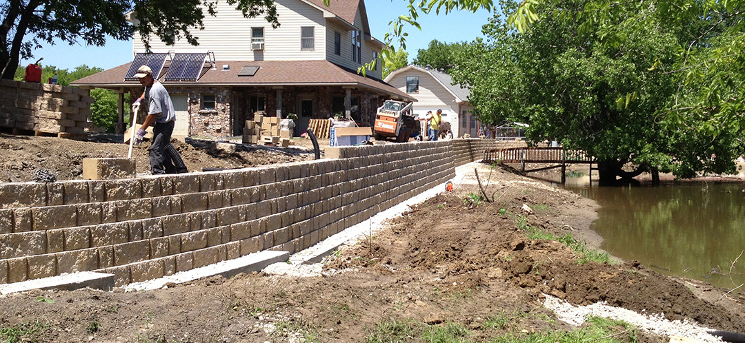 Retaining Wall Construction - DFW
