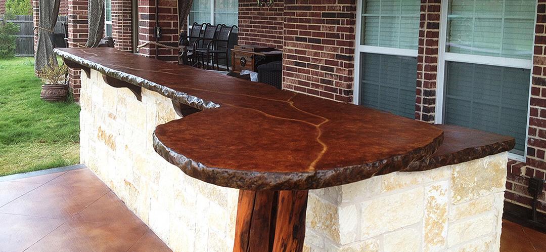 Concrete Countertops - Frisco, Texas