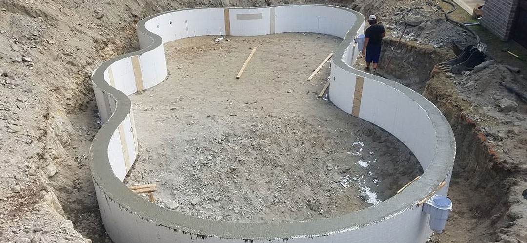 ICF Construction - Swimming Pools