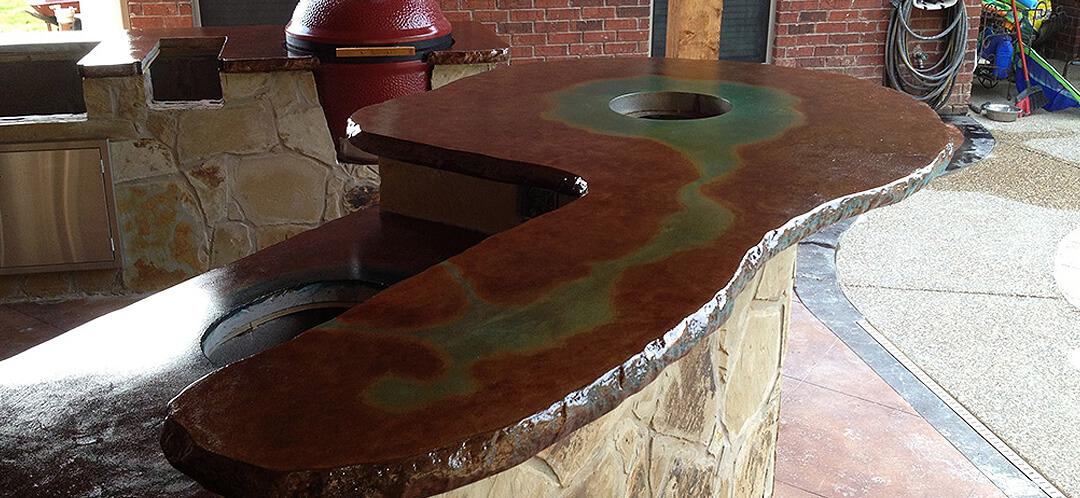 Concrete Countertops - Westlake, Texas