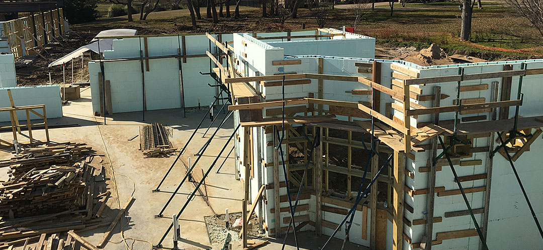 ICF Commercial Construction