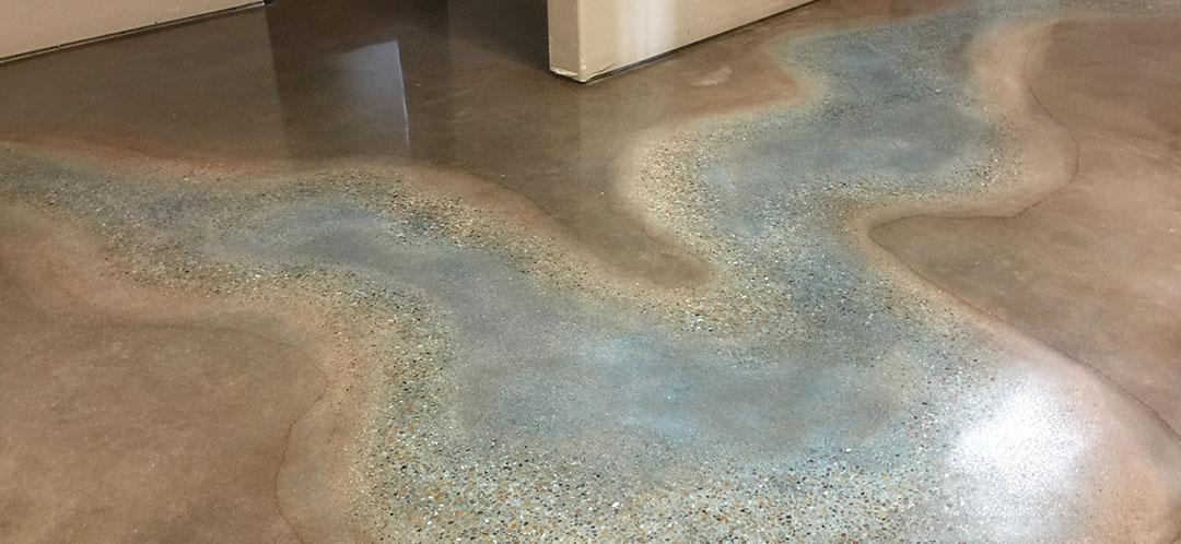 Beautiful Concrete Floors - Southlake, Texas