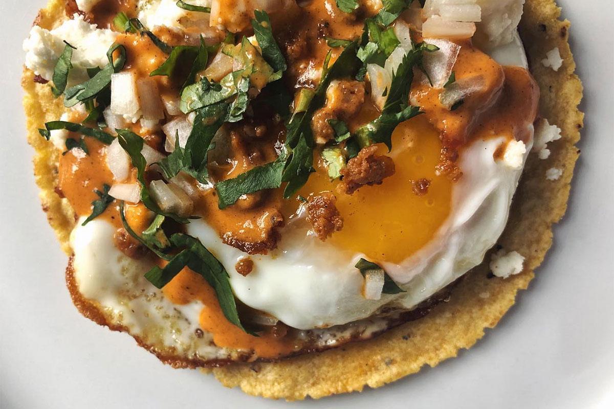 Ex-Voto Egg Taco
