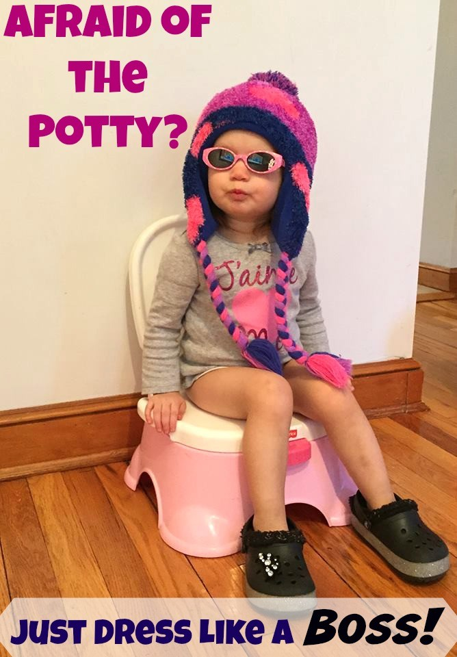 afraid of pooping in potty
