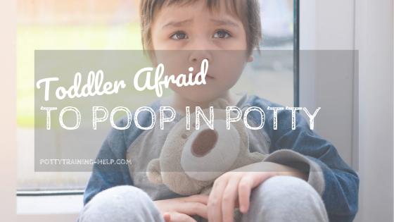Toddler afraid to poop in potty