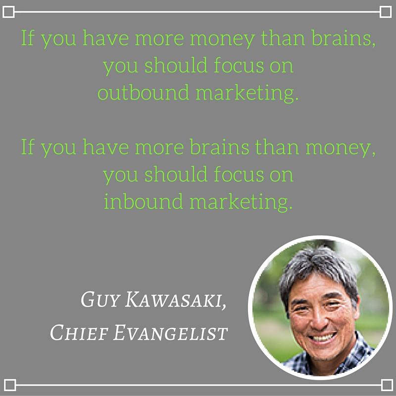 Guy Kawasaki, Chief Evangelist, Inbound Marketing