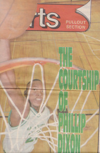 Phillip Dixon - the forerunner and an archetype of today's elite Canadian basketball recruit
