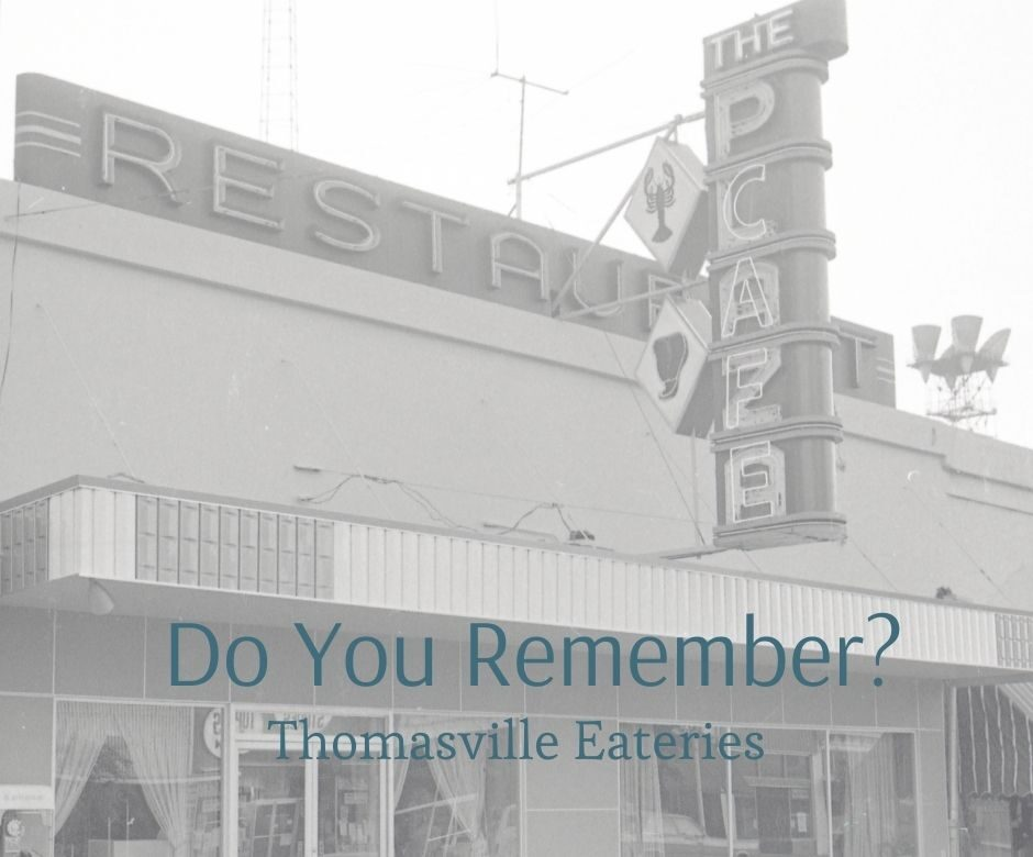 Do You Remember Thomasville Eateries