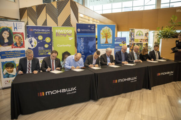 Mohawk College and Climate Change Leaders Partnership Gathering