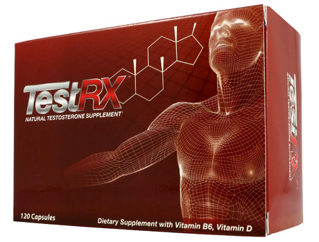 TestRX™ The Natural Low Testosterone Supplement For Guys