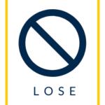 lose icon