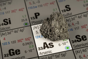 Element Arsen mit Periodensystem