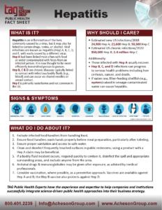 Hepatitis Fact Sheet