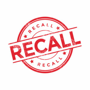 What should you do if you think you may have a recall situation?