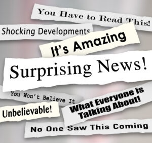 Surprising News Shocking Unbelievable Headlines Ripped Torn News