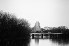 View from Kent Trails Bridge, Grand Rapids, 2011