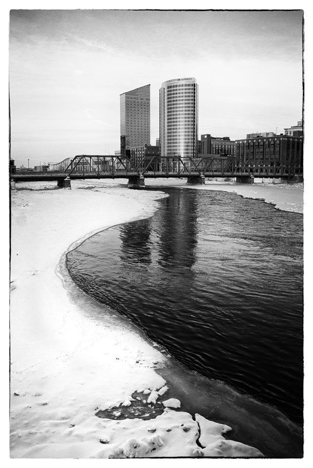 View from River Walk, Grand Rapids, 2008